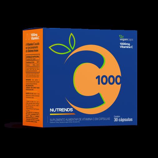 Vitamina C 1000mg 30 cápsulas